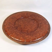 7 Pier 1 Stoneware Wicker Chargers Northport, 11768