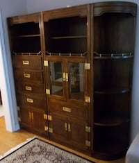 Beautiful Solid Wood Kaufman of Collingwood Wall Unit (4 Pieces) OAKVILLE