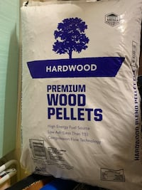 Pellet stove wood pellets