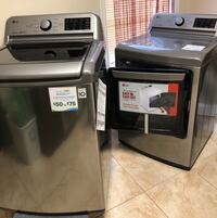 LG washer & Dryer set.