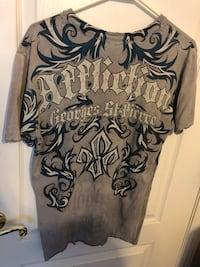 Affliction men's denim shirt size Small   Alexandria, 22310