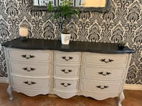 Entryway table/Dresser/ Sideboard and trunk / chest $650 for both