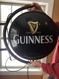 Rotating Guinness Beer Signs 323 mi