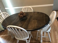 Refinished farmhouse table with 4 chairs Virginia Beach, 23456