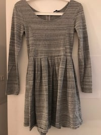 Aritzia Talula Gray fit and flare dress Toronto, M4S 0A5