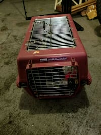 red and black pet carrier Chicago, 60622