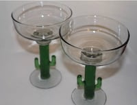 Margarita Glass with Tropical Cactus Handle Frisco, 75035