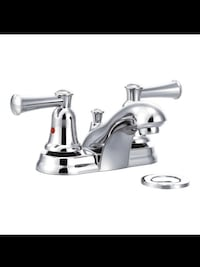 Moen Chrome Two-Handle Bathroom Faucet