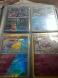 four assorted Pokemon trading cards Union City, 07087