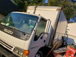 Isuzu NPR 16 foot box truck