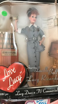 Lucy doll with box