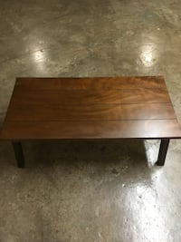 Dark Wood Coffee Table Kansas City, 64106