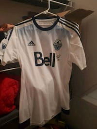NWT Signed Whitecaps Jersey & Soccer Ball Maple Ridge