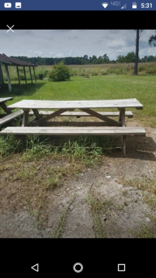 Used Picnic Tables For Sale In Livingston Letgo