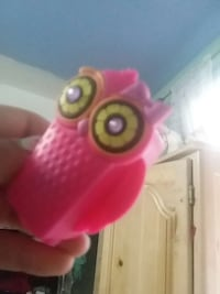 pink yellow and black owl toy Downey, 90242