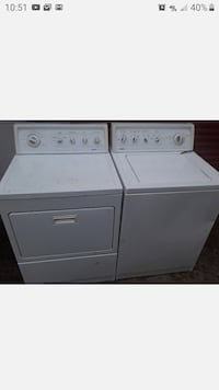 Kenmore washer and dryer set electric