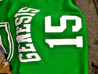 green and white # 15 jersey New Orleans, 70126