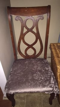brown wooden frame brown padded chair Sainte-Thérèse, J7E 4V8