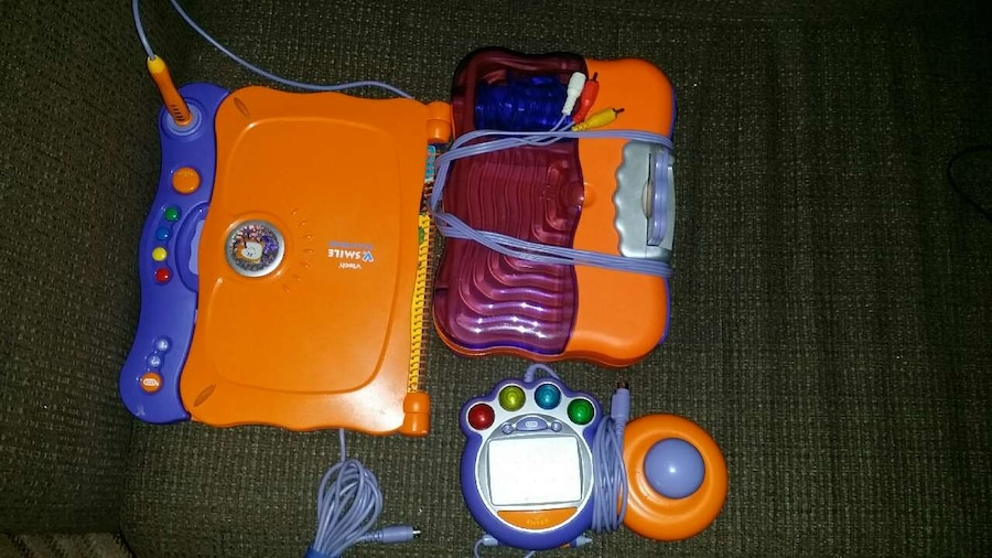 Vtech vsmile with smartbook