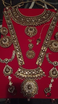 Bridal Indian jewelry. Gorgeous set. Purchased for $400 from Payal center 3730 km