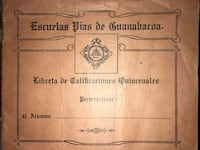 Offers considered. Report Card from Escuelas Pias de Guanabacoa 1936. New York, 10036