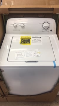 Washer and dryer set 2018 brand new One year warranty we offer finance 90 days same as cash delivery and installation available  Raleigh, 27610