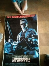 Movie poster The Terminator Ontario, 97914
