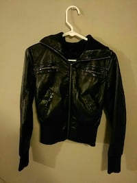 Leather jacket youth size small