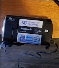 Panasonic SD card Camcorder  Annandale, 22003