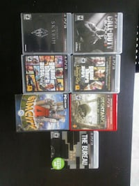 Ps3 games and one pc game. Vancouver, T5H 0E7