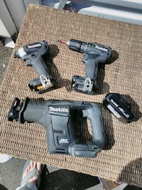 black and gray cordless hand drill Seattle, 98107