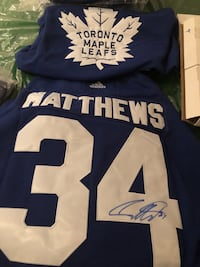 Blue and white manning 18 jersey shirt Vaughan, L4J 7T9