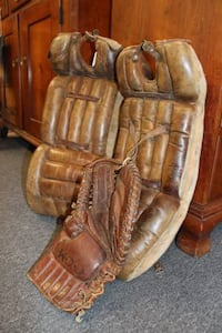 Antique Goalie Equipment LEESBURG