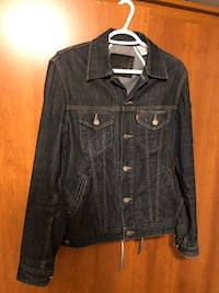 Levi's Moto Denim Jean Jacket - Men Size S