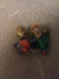2 vintage 1989 tail spin toys