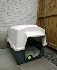 white and gray pet carrier Kitchener, N2P 1E5