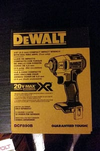 Dewalt 3/8 Compact impact wrench with Hog Ring