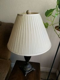 white and black table lamp Henderson, 89074