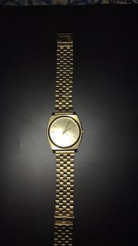 Nixon TimeTeller Gold Wristwatch  Patterson, 95363
