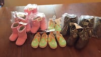 toddler's assorted pairs of shoes Ferguson, 63135