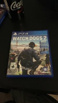 Watch dogs 2 ps4 game case