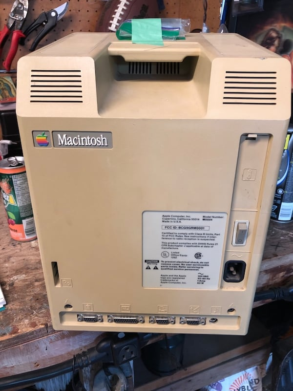Apple macintosh 1