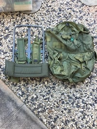 Olive Green Large hiking backpack Waipahu, 96797