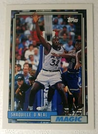 Shaquille O'neal ROOKIE #362   Card Chesapeake, 23320