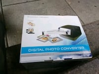 Hammacher Schlemmer digital picture photo converte Washington, 20036