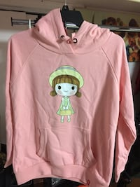 pink and green pullover hoodie 纽约市, 11355