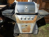 Life @ Home BBQ w/Side Burner. Only $85!! Edmonton, T5X 4K8