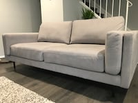Grey fabric sofa Silver Spring, 20910