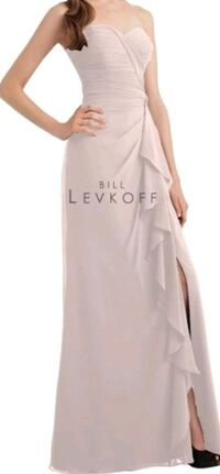 Bill Levkoff Strapless Pink Dress  Toronto, M6K 0B3