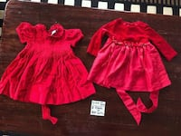 12 Months Baby Girl Holiday Thanksgiving Christmas Dresses